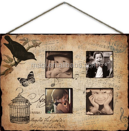 Wall Hanging Photo Frame for Several Pictures