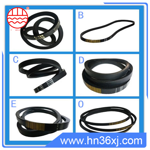 Universal a/b/c/d/e type all kinds rubber v-belts