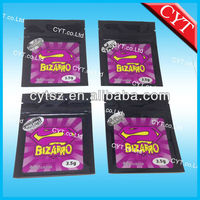 Popular in USA Hot Selling bizarro zenbio herbal incense bags