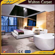 Hotel project cut pile machine tufted 72dpi commercial printed carpet