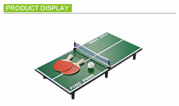 Mini Impactful Handle Table Tennis For Family Party