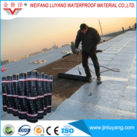 aluminum coated bituminous waterproofing membrane