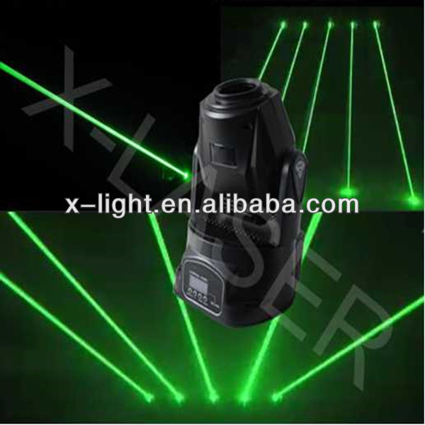 Fat beam laser moving head light