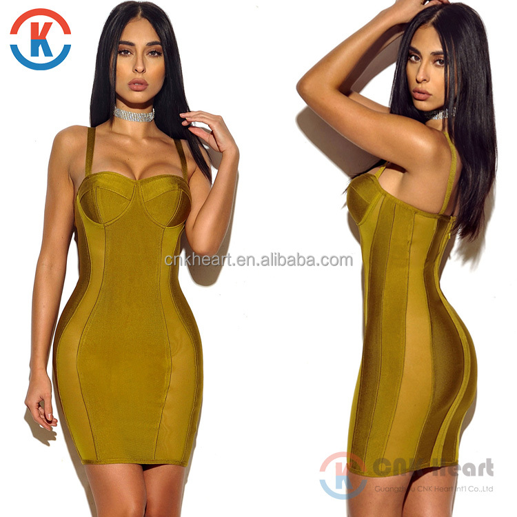 2017 Fashion Backless Black sexy dress women v neck bandage bodycon dress