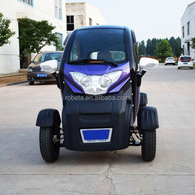 3 seater electric car 2 person electric mini car