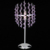 Alibaba Website Hot Sell New Purple Modern Crystal Floor Lamp