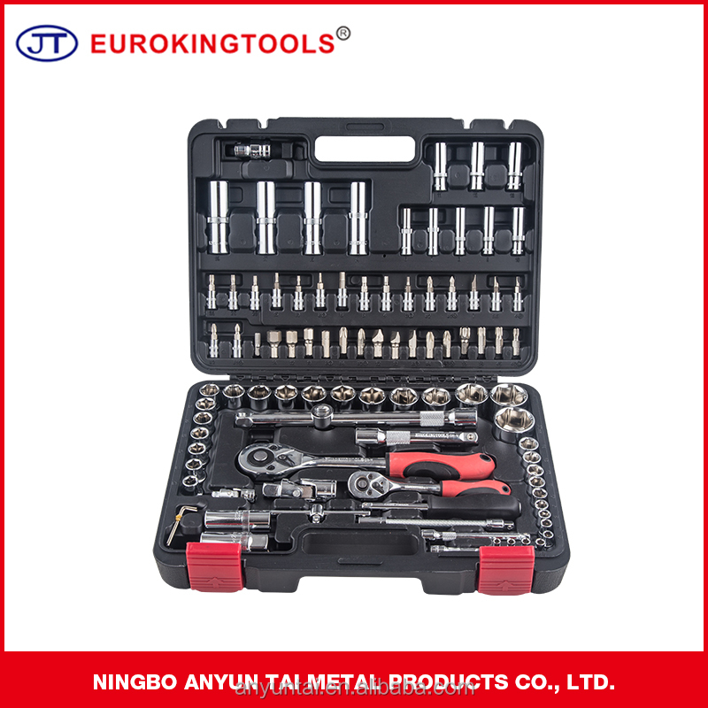 94pcs Socket Wrench Set 1/2'' Drive Box Spanner Auto Repair Tool Hand Tool 94 pcs Socket Set