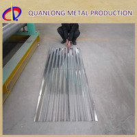 skin-passed curve corrugated sheet steel, steel roofing sheet
