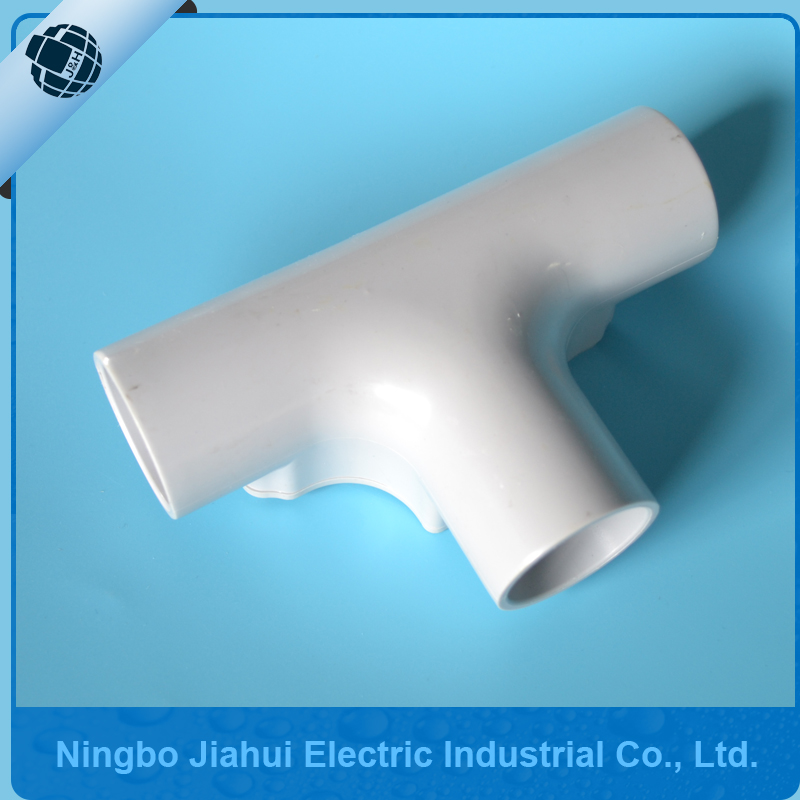 PVC Electrical Conduit Inspection Tee 90 degree elbow