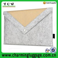 Cheap Designer Carrying Ultra Thin Felt Laptop Sleeve
