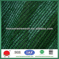 2013 Direct Factory New Discount HDPE UV Resistant 110gsm Dark green HDPE monofilament Sun Shade Nets for garden protection