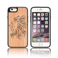 Double Check Quality Walnut Wood Cases And Covers For Iphone 5s