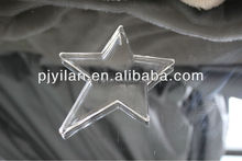 lovely clear decorative hanging christmas star