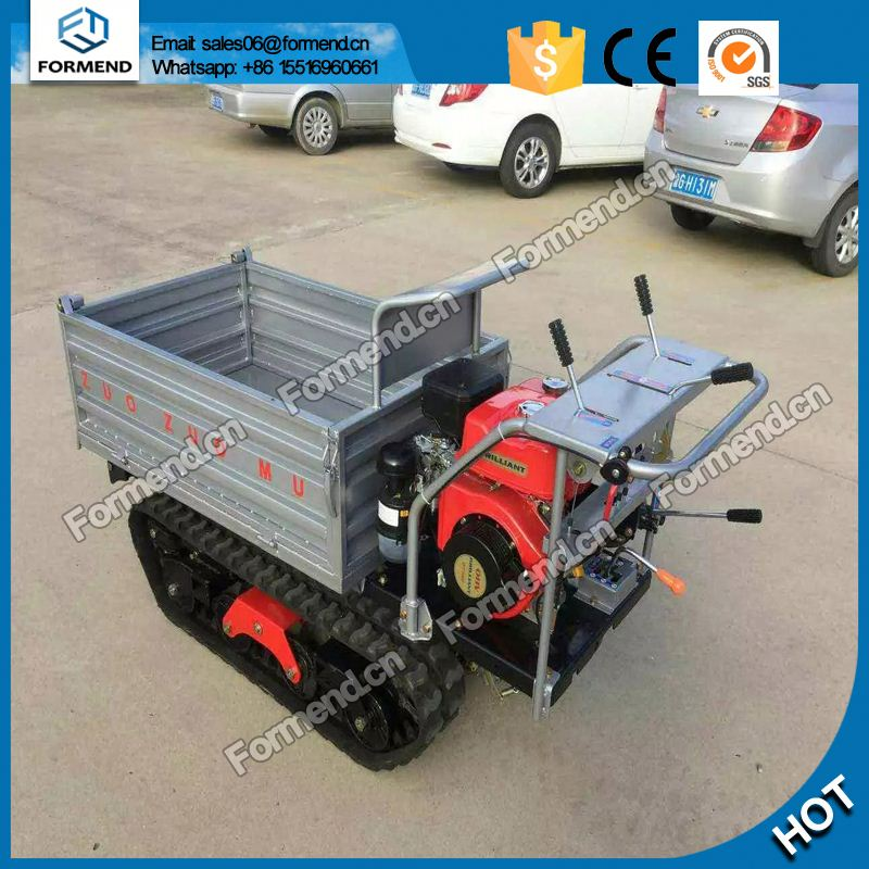 High quality gasoline engine power mini dumper crawler mini dumper <strong>truck</strong>