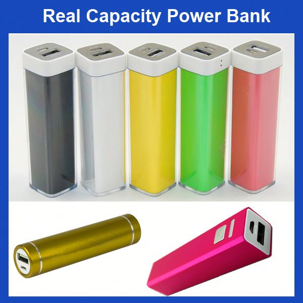 FACTORY HOT SALE Lipstick Colorful abs mobile power bank