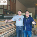 High speed drying high frequency vacuum timber kiln dryer