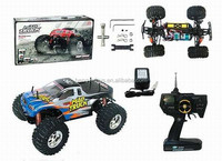 1:10 Off Road High Power Electric RC Car Mad Electric RC Monster Truck Brushed Electric Motor RC Cars BT-005753