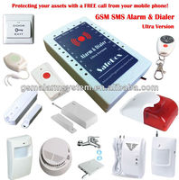 2013 new product wireless GSM alarm systrm,sms internet,alarm system by mobile phone