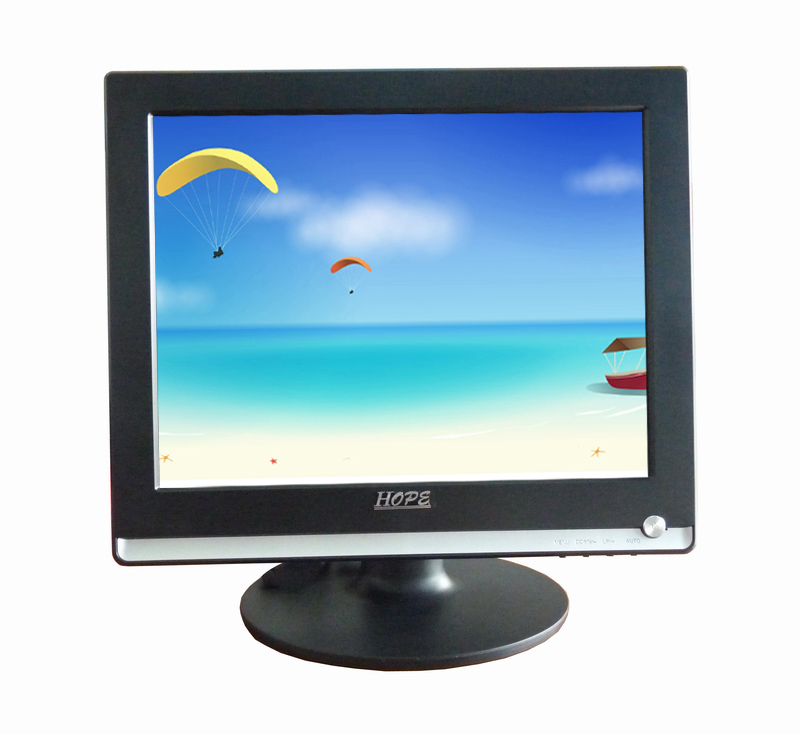 Cheap Price Second Hand 15'' 1280 x 720 LCD Monitor