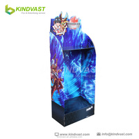 Naruto floor shelf display stand for toys