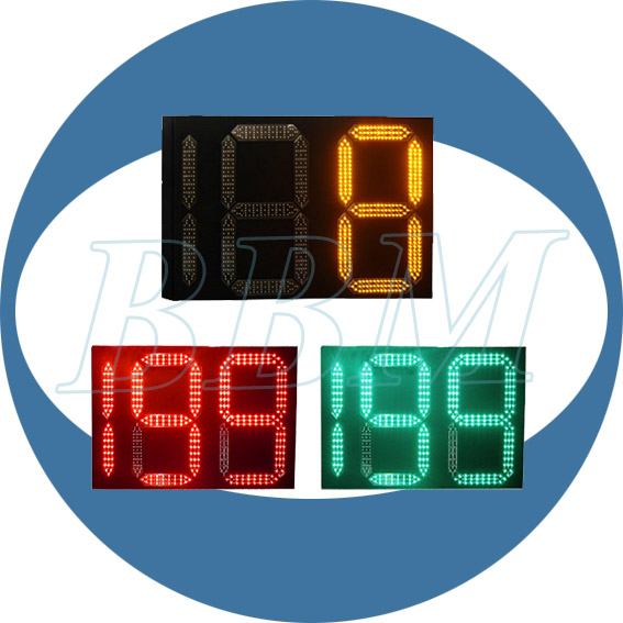 900mm*600mm Led display large traffic light countdown timer