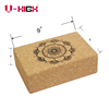 Made in china factory supplier wholesale non slip yoga brick eco friendly natural cork yoga block