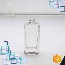 3808#-45ml cheap price colored empty ceramic perfume bottle clear glass jars with lids