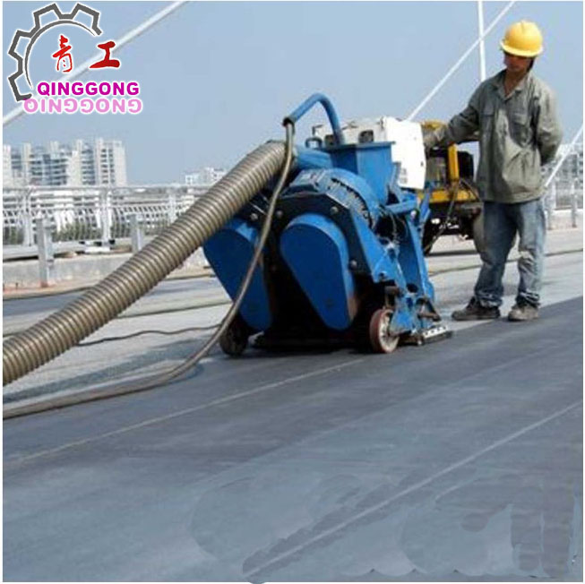 aircraft carrier cleaning machine manufacturer from China/floor shot blaster/road shot blasting machine