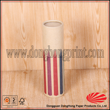 Paint brush pencil tube packaging box