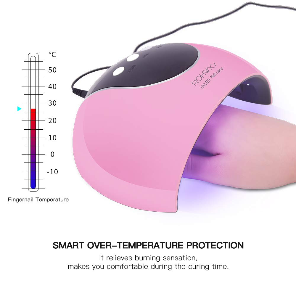 Electric Rechargeable LED Uv Light Gel  Nail Lamp 24W Dryer Polish  Nail Dryer
