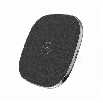 10w Ultra slim 4 MPO QI fast wireless charger station for iPhone8/8P/X/ Samsung
