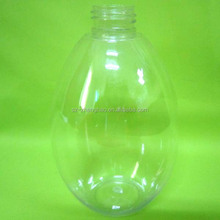 1 gallon plastic bottle with clear material PET