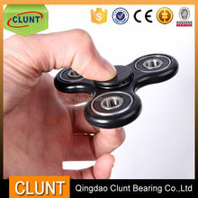 Hand help toy decompression finger spinner with high speed ceramic bearing 608