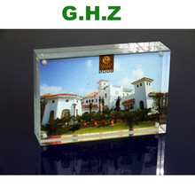 Custom Desktop Gift Acrylic 2 Sided Picture Frame Factory