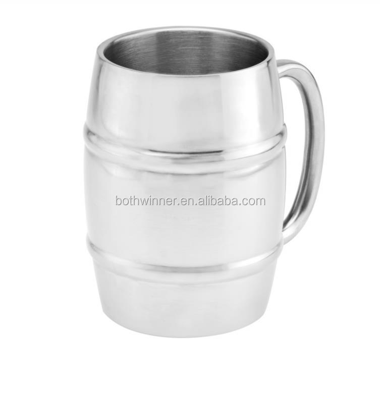 8oz stainless steel coffee cup h0t284 stainless steel Coffee cups for sale