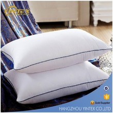 Rectangle Shape 100% Cotton Material Duck Down Feather Pillows