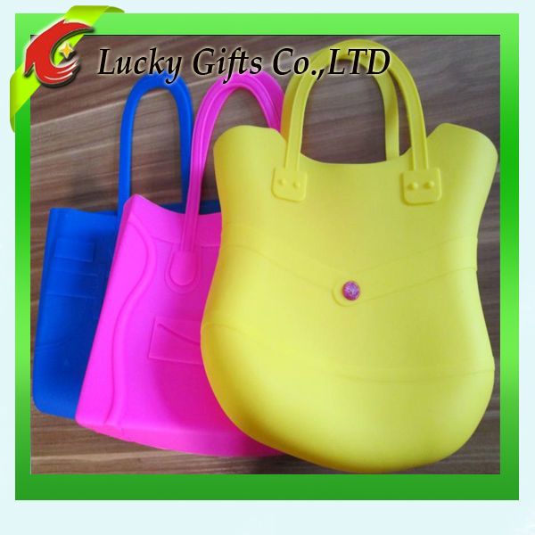 Wholesale Customized High Quality Silicone Hand Bag