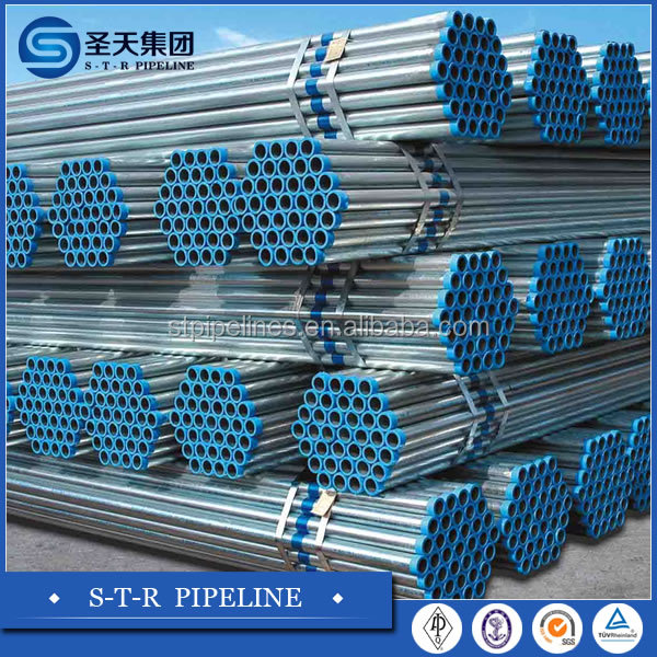 building materials galvanized iron steel pipe for irrigation
