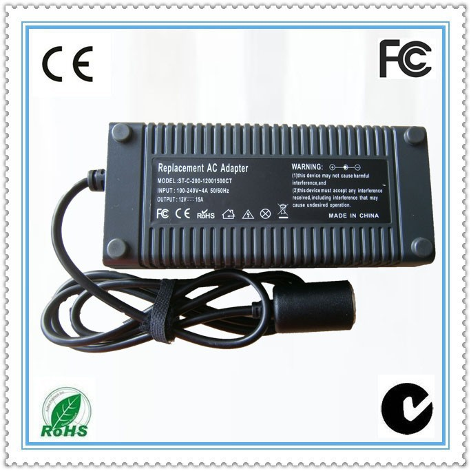12V15a Universal desktype eu plug ac/dc power adapter