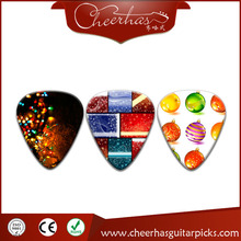 Custom celluloid guitar picks wholesale with small MOQ
