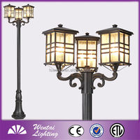 Outdoor Path Lamp Pole