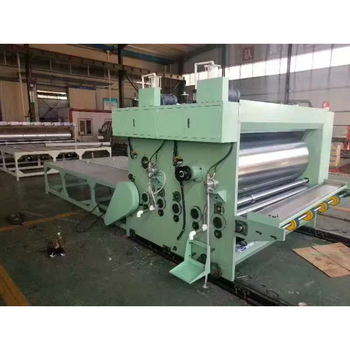 Cardboard Carton Box Corrugated Flexographic Printing Slotting Machine