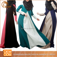 Hot wholesale double colors dubai style lahore wholesale abaya