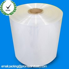Center folded clear POF polyolefin shrink wrap film