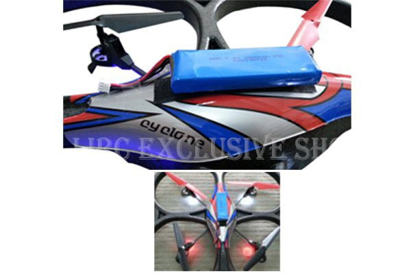 2pcs Lithium Battery Spare Parts Upgraded Battery 7.4V 2800mAh Battery for WL Toys V262 V323 V333 V666 Large Quadcopter Drone