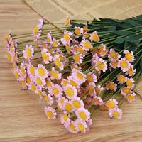 Artificial Flower Rose Wholesale Factory Silk Rose Nosegay Bridal Wedding Bouquet