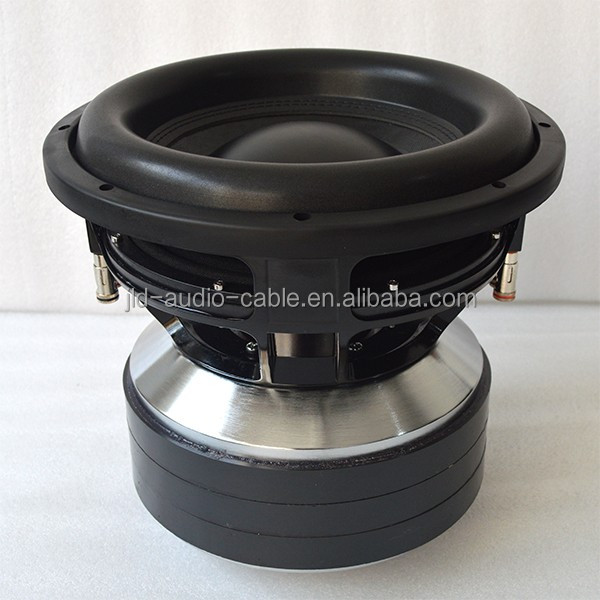 "JLD CAR subwoofers with 12"" huge motor high spl 3000 rms free sample subwoofer"
