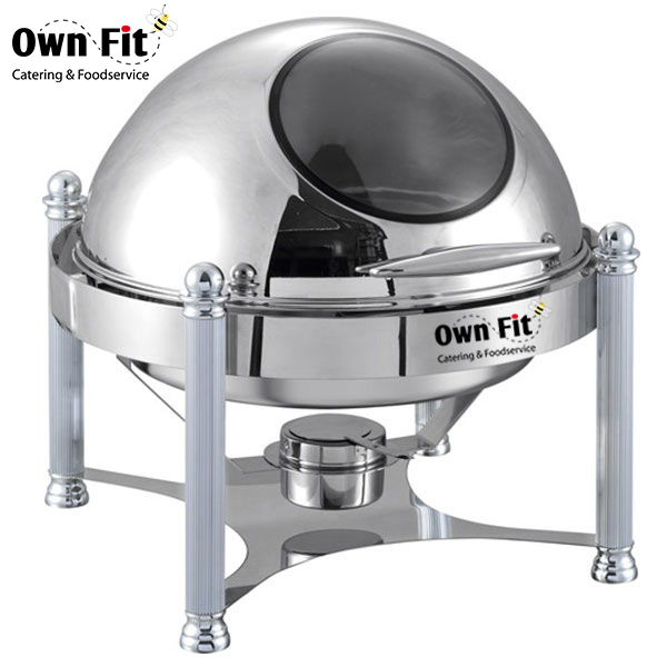 Commerical Buffet Equipment roll top chafer,stainless steel chafing dish price