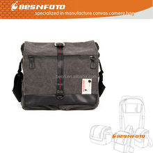 Zhongshan bag manufacture Medium Canvas camera bag for eos camera