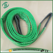 High tensile endless flat polyester webbing sling red adjustable lifting slings